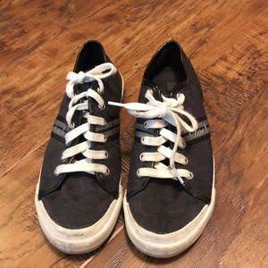 Black coach folly shoes